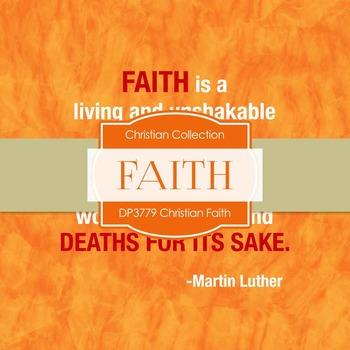 Digital Papers - Christian Faith (DP3779)