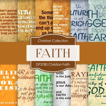 Digital Papers - Christian Faith (DP3780)