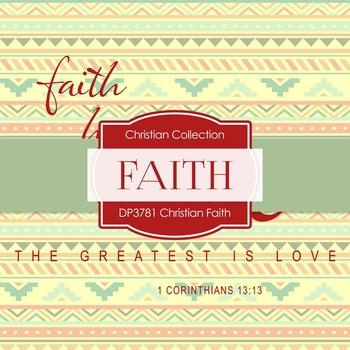 Digital Papers - Christian Faith (DP3781)