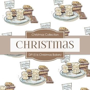 Digital Papers -  Christmas Bakery (DP1516)