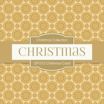 Digital Papers - Christmas Carol (DP1512)