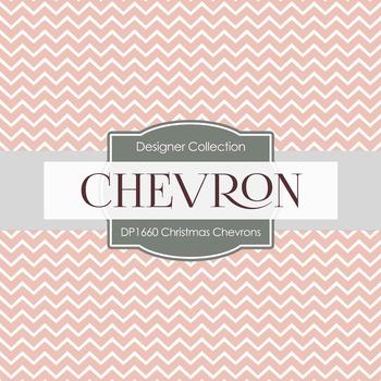Digital Papers -  Christmas Chevrons (DP1660)