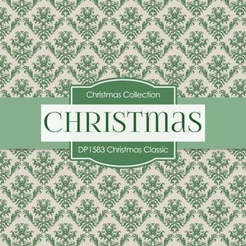 Digital Papers -  Christmas Classics (DP1583)