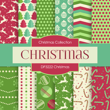 Digital Papers - Christmas (DP3222)