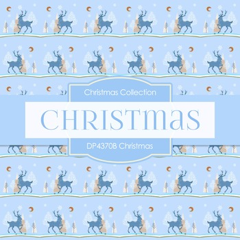 Digital Papers - Christmas (DP4370B)