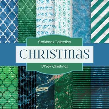 Digital Papers - Christmas (DP669)