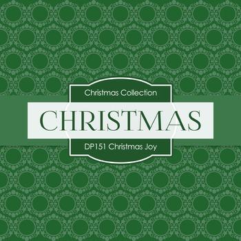 Digital Papers - Christmas Joy (DP151)