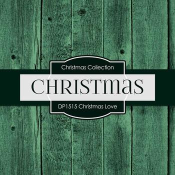 Digital Papers - Christmas Love (DP1515)