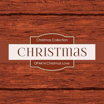 Digital Papers - Christmas Love (DP4413)