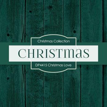 Digital Papers - Christmas Love (DP4415)
