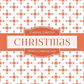 Digital Papers - Christmas Love (DP4416)