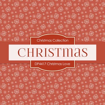 Digital Papers - Christmas Love (DP4417)