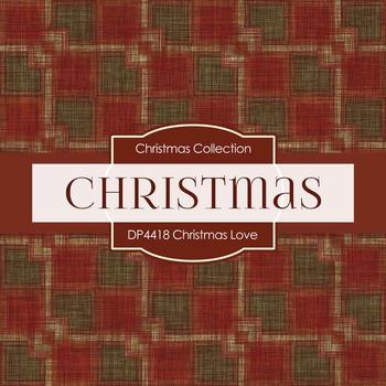 Digital Papers - Christmas Love (DP4418)