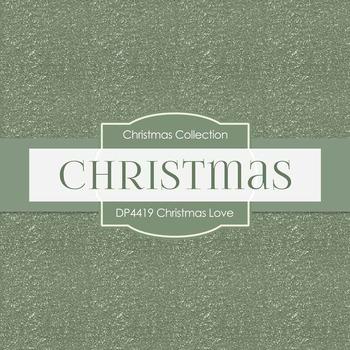 Digital Papers - Christmas Love (DP4419)
