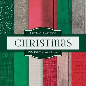 Digital Papers - Christmas Love (DP4420)