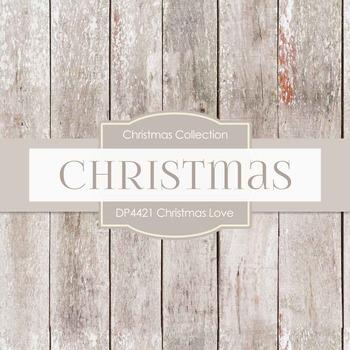 Digital Papers - Christmas Love (DP4421)