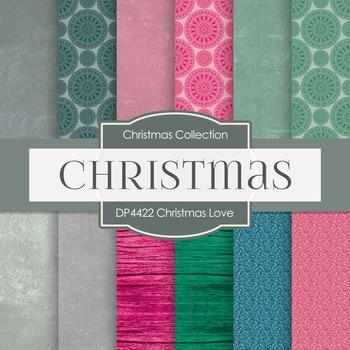 Digital Papers - Christmas Love (DP4422)