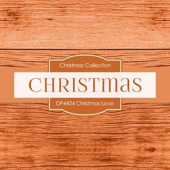 Digital Papers - Christmas Love (DP4424)