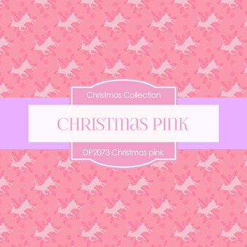 Digital Papers - Christmas Pink (DP2073)