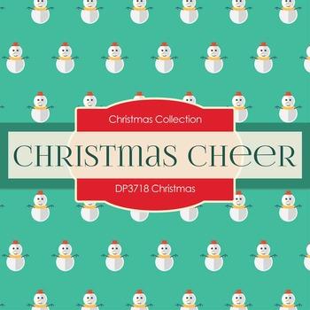 Digital Papers - Christmas Prints (DP3720)