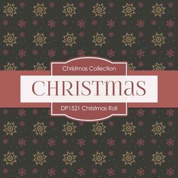 Digital Papers - Christmas Roll (DP1521)