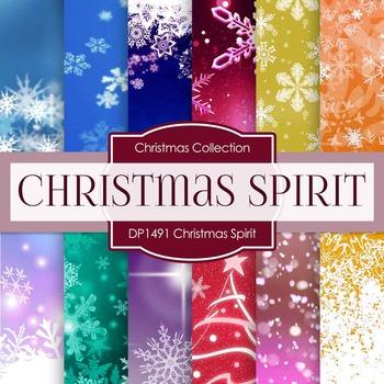 Digital Papers - Christmas Spirit (DP1491)
