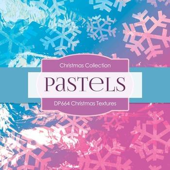 Digital Papers - Christmas Textures (DP664)