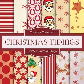 Digital Papers - Christmas Tidings (DP192)