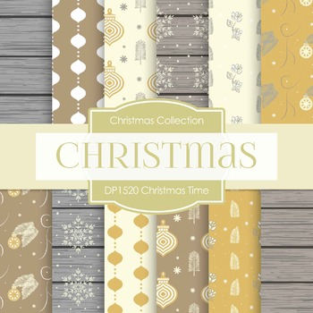 Digital Papers - Christmas Time (DP1520)