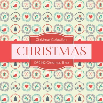 Digital Papers - Christmas Time (DP2142)