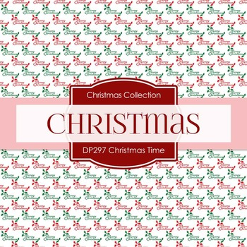 Digital Papers - Christmas Time (DP297)