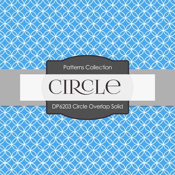 Digital Papers - Circle Overlap Solid (DP6203)