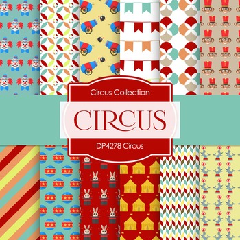 Digital Papers - Circus (DP4278)