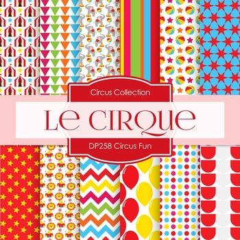 Digital Papers - Circus Fun (DP258)