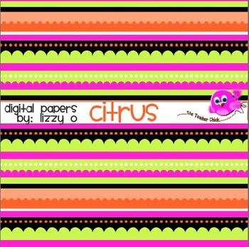 Digital Papers - Citrus