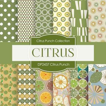 Digital Papers - Citrus Punch (DP2437)