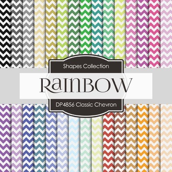 Digital Papers - Classic Chevron (DP4856)