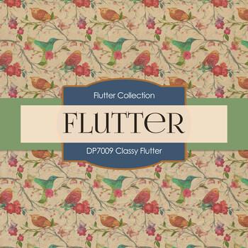 Digital Papers - Classy Flutter (DP7009)