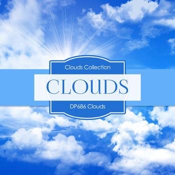 Digital Papers - Clouds (DP686)