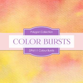 Digital Papers - Color Bursts (DP6111)