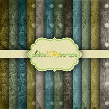 Digital Papers Color Patterns 2