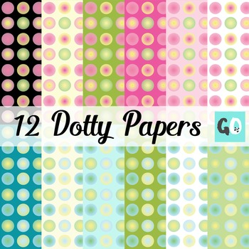 POLKA DOT Digital Papers