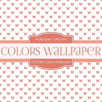 Digital Papers - Colors Wallpaper (DP2240)
