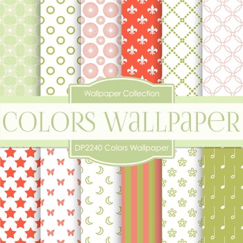 Digital Papers - Colors Wallpaper (DP2240)