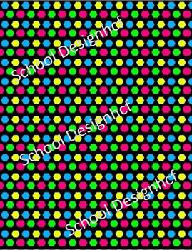Digital Papers - Luminous (School Designhcf)