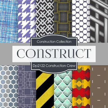 Digital Papers - Construction Crew (DP2122)