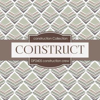 Digital Papers - Construction Crew (DP2405)