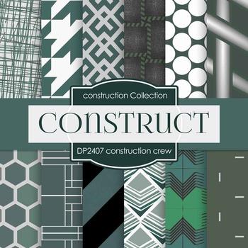 Digital Papers - Construction Crew (DP2407)