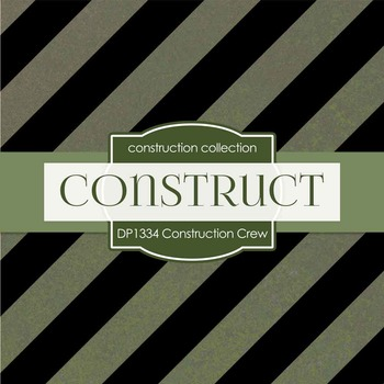 Digital Papers - Construction Crew (DP754)