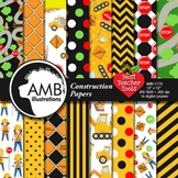 Construction Digital Papers, Truck Digital Papers and back